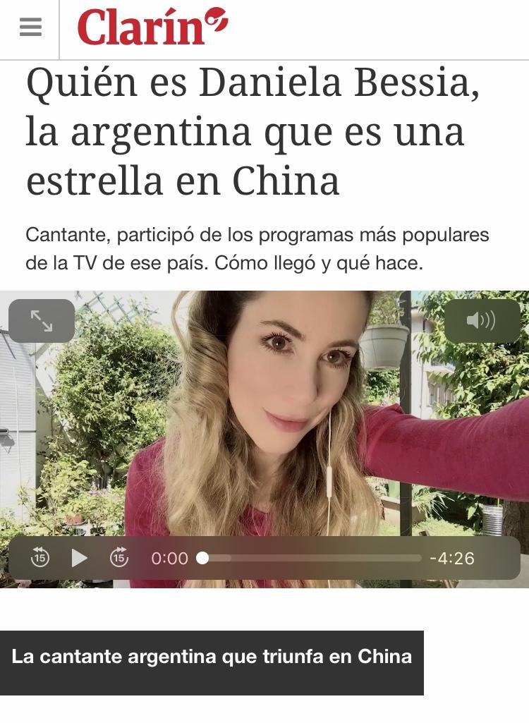 1 Daniela Bessia Una Estrella en China Clarin